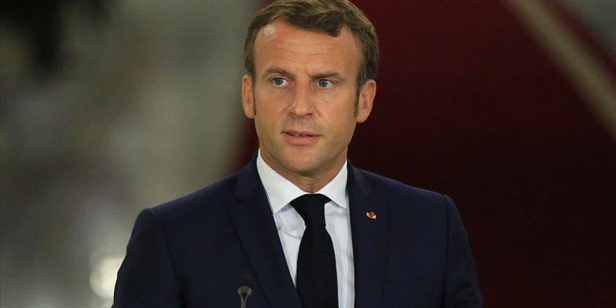Macron Türkiye'ye saygı duyuyormuş!