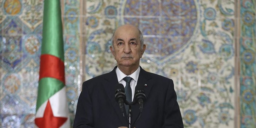 Cezayir: Filistinlilerin Başkenti Kudüs olan devletlerini kurma hakları pazarlık konusu olamaz