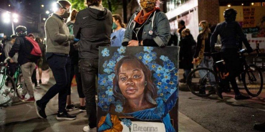 ABD'de büyük jürinin Breonna Taylor kararı tepki çekti, protestolarda iki polis vuruldu