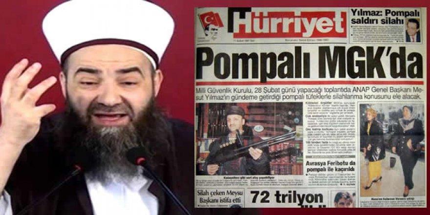 """Cübbeli'nin jurnalcılığı 28 Şubat'ın """"pompalı"""" manşetlerini hatırlatıyor"""