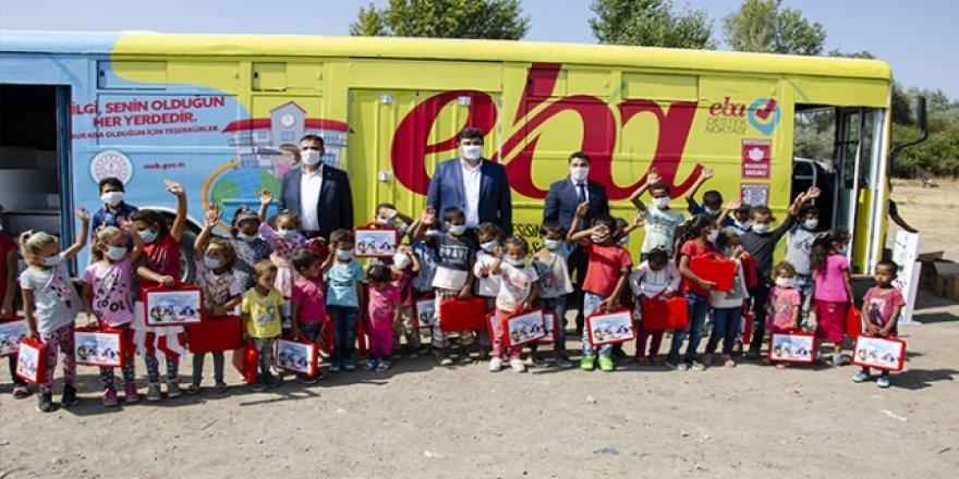 Ankara'da mevsimlik işçilerin çocuklarının eğitimi için otobüs tahsis edildi