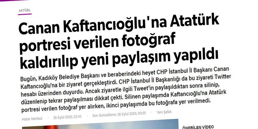 """Yeni Şafak, Mustafa Kemal'i """"Atatürk"""" olarak görmekte kararlı galiba!"""