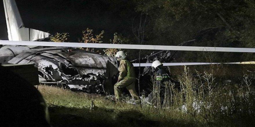 Ukrayna'da düşen uçakta ölenlerin sayısı 26'ya yükseldi