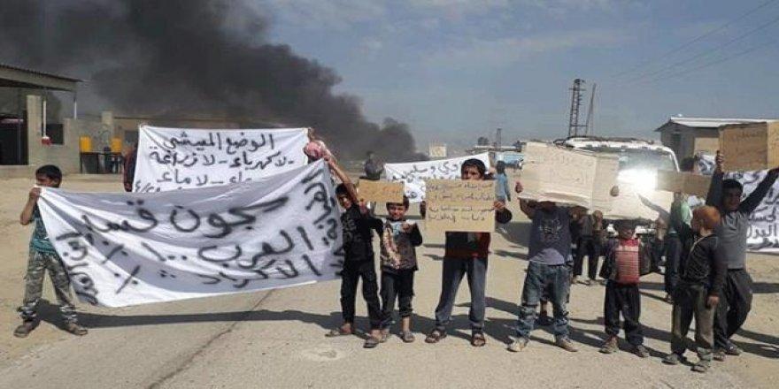 PKK/YPG'nin sivillere yönelik baskı ve zulmü Haseke'de protesto edildi
