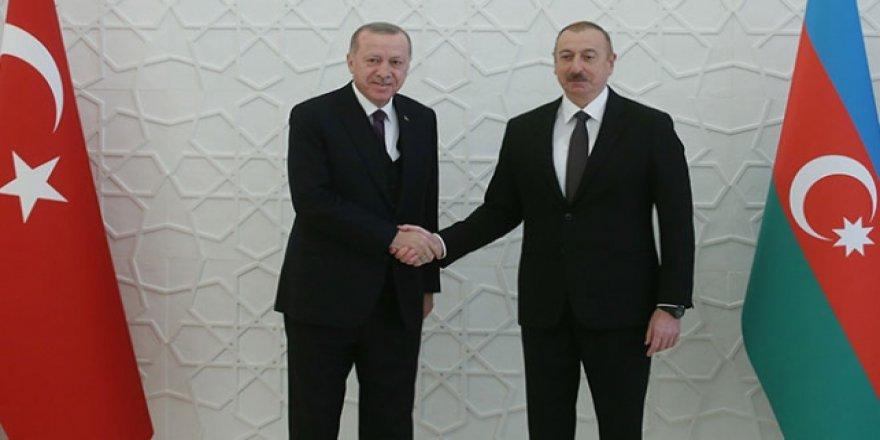 Cumhurbaşkanı Erdoğan: Tüm imkanlarımızla Azerbaycanlı kardeşlerimizin yanındayız