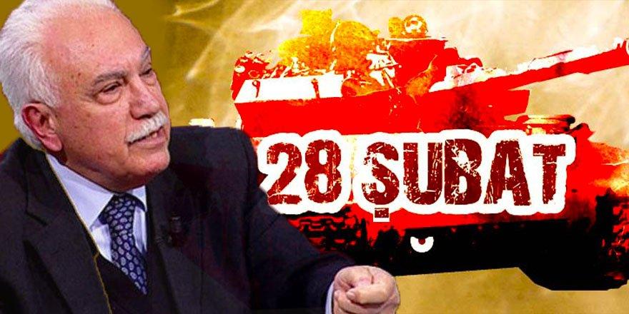 """Cuntanın sözcülüğünü yapan Perinçek'e göre: """"28 Şubat'a darbe diyen herkes FETÖ'cüdür!"""""""
