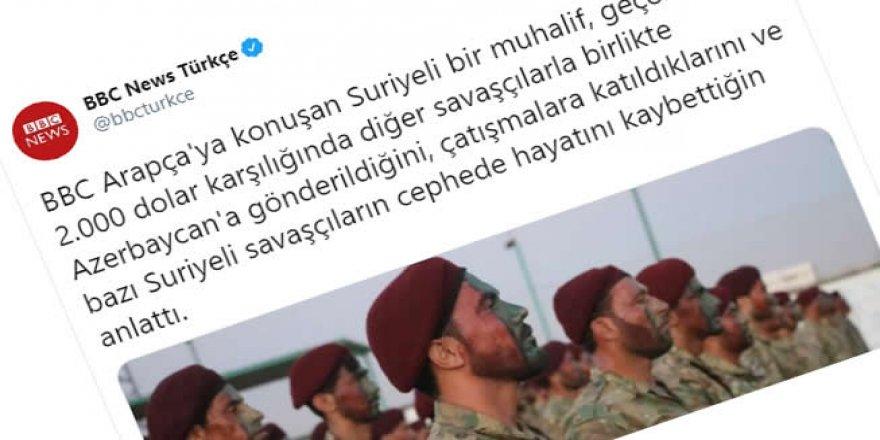 BBC, Suriyeli muhalifleri Azerbaycan'a gönderdi!