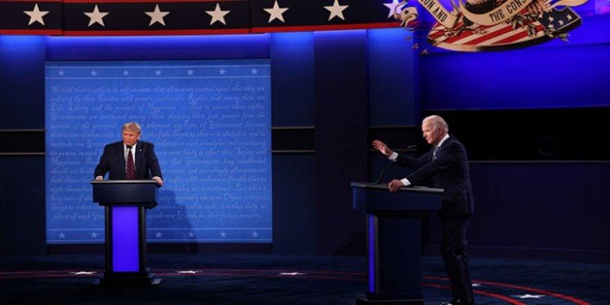 Trump ve Biden'ın tartışmasında tansiyon yükseldi