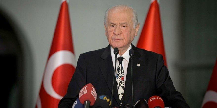 Devlet Bahçeli: Anayasa Mahkemesi yeniden yapılandırılmalı