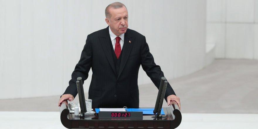 Cumhurbaşkanı Erdoğan: Barışın kalıcı yolu Ermenistan'ın çekilmesidir