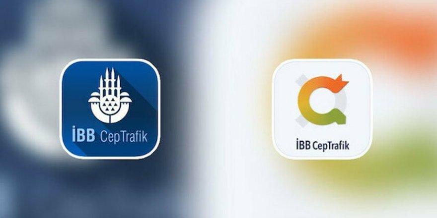 CHP'li Ekrem İmamoğlu İBB TV'nin ardından İBB Cep Trafik'te de cami logosunu çıkardı