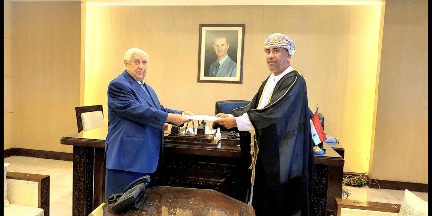 Umman Krallığı8 yıl sonra Şam'a büyükelçi atadı