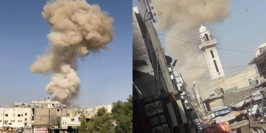 El Bab'da bomba yüklü kamyonla saldırı