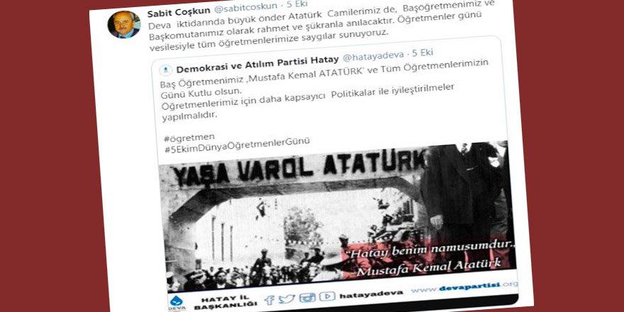 Korkmayın! Deva gelince camilerde Atatürk anılacak!