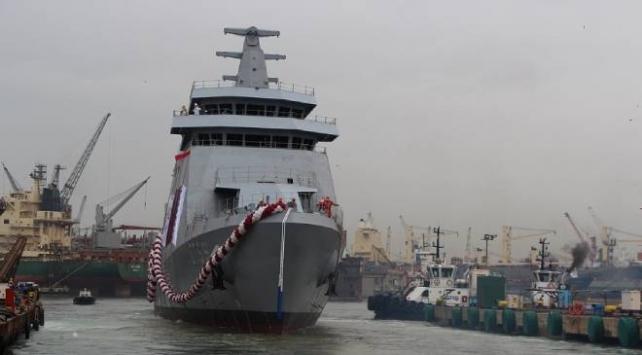 Katar için yapılan AL-DOHA gemisi denize indirildi