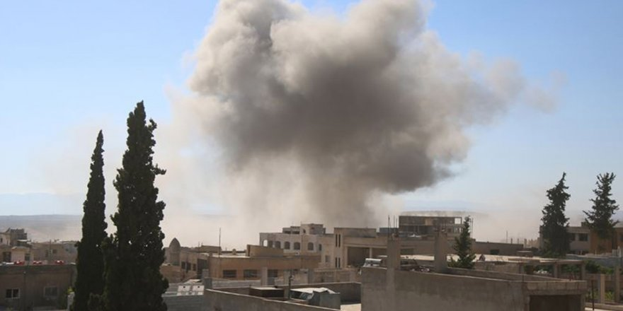 Katil Esed rejiminden İdlib'e roket ve havan saldırısı