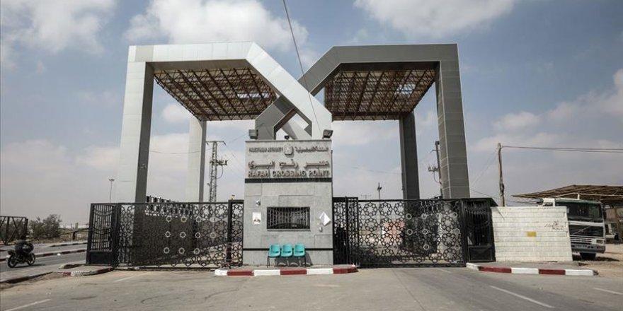 Gazze'deki İçişleri Bakanlığı: Refah Sınır Kapısı'nın daimi olarak açılması için çalışıyoruz