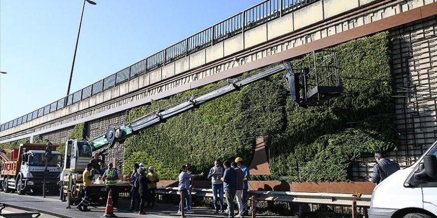 İBB'nin söktüğü dikey bahçeler meclis gündeminde tartışıldı