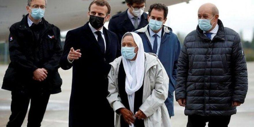 ''Fransız İslamı'' dayatmacısı Macron'a Meryem Petronin sillesi