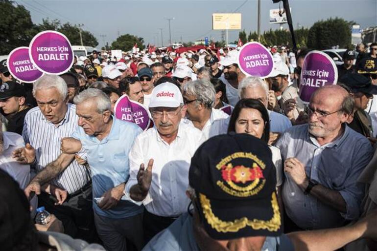 CHP'de ikinci 'adalet' yürüyüşü iddiaları