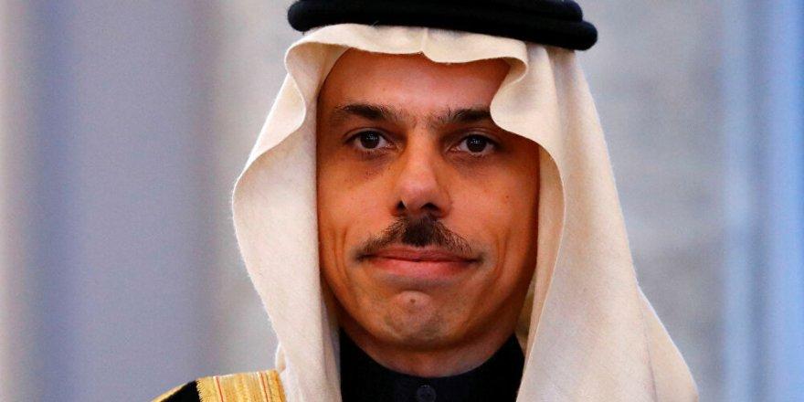 """S. Arabistan Dışişleri Bakanından """"İsrail'le normalleşme"""" yorumu"""