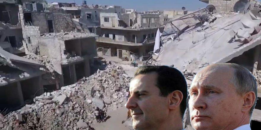 Suriye ve Rusya'nın insanlık suçları raporlaştırıldı