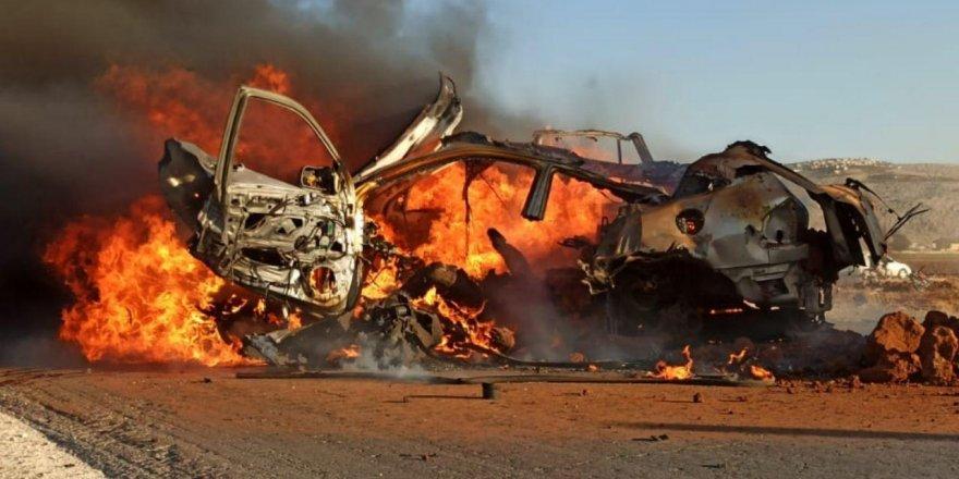 ABD İdlib'te hava saldırılarıyla iki lideri ve bir çocuğu öldürdü