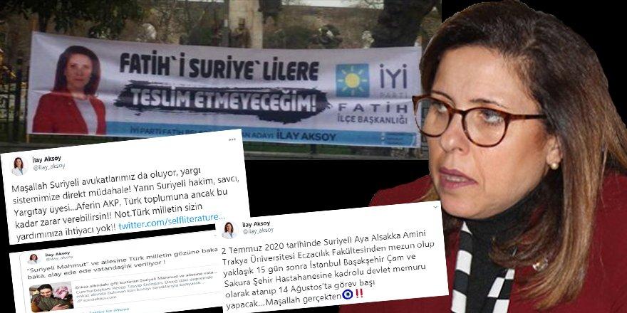 Suriyeli muhacir düşmanı İlay Aksoy'a suç duyurusu!