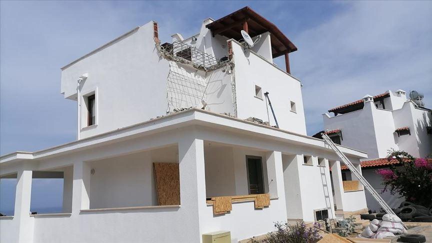 Bodrum'da kaçak yapılaşmayla mücadele devam ediyor