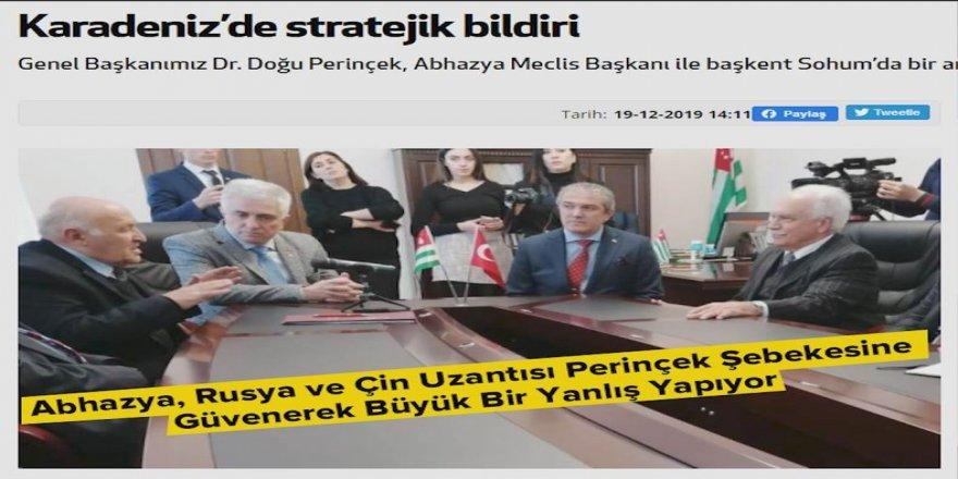 """Kenan Alpay: """"Abhazya yönetimini Ermenistan işgalini kınamaya ve Azerbaycan halkıyla dayanışmaya davet ediyorum"""""""