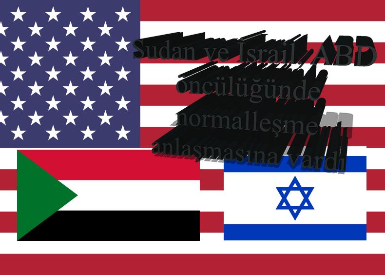 Trump: İsrail ile Sudan normalleşme anlaşmasına vardı