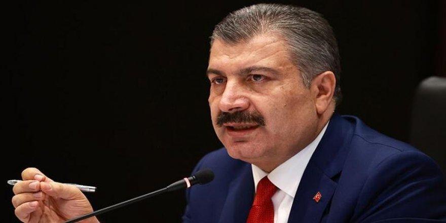 Fahrettin Koca: Salgın Anadolu'da ikinci zirve döneminde