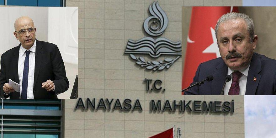 TBMM Başkanı Şentop: Enis Berberoğlu konusunda AYM kararları bağlayıcıdır
