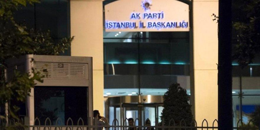 İstanbul AK Parti'de 22 ilçe başkanı görevden alındı iddiası
