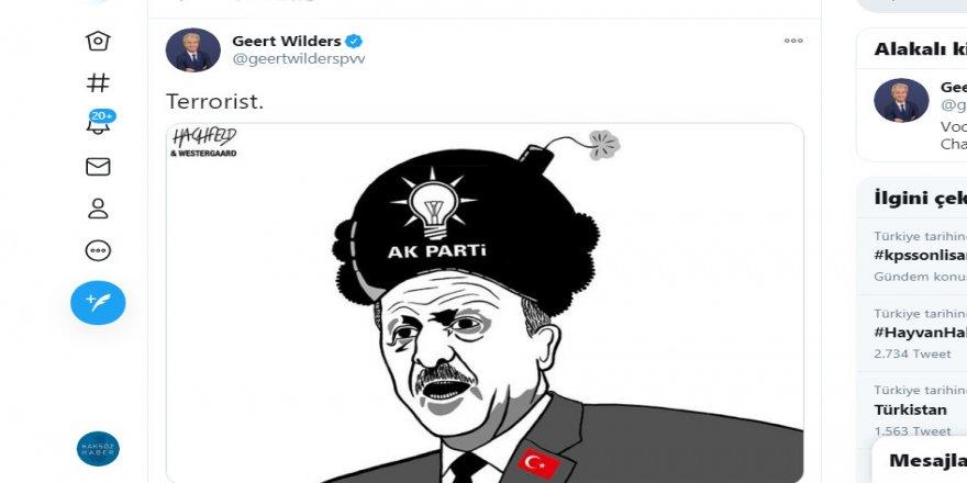 Irkçı Wilders yine Erdoğan'ı hedef aldı!