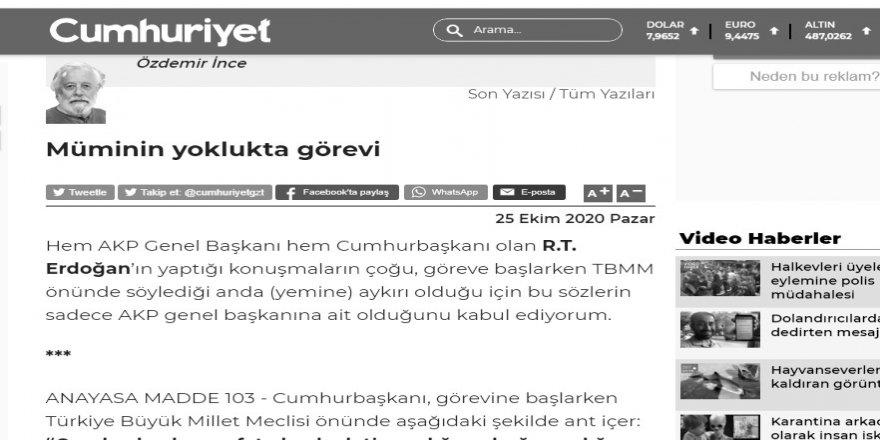 """Kılıçdaroğlu'nun """"mümin"""" demesinden bile rahatsız olmak!"""