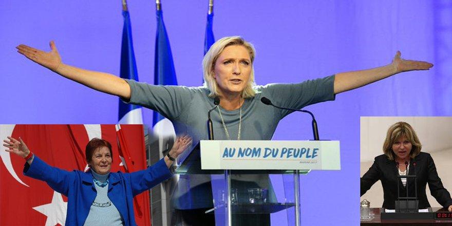 Le Pen Faşist, Nur Serter ve Türkan Saylan Demokrat, öyle mi?