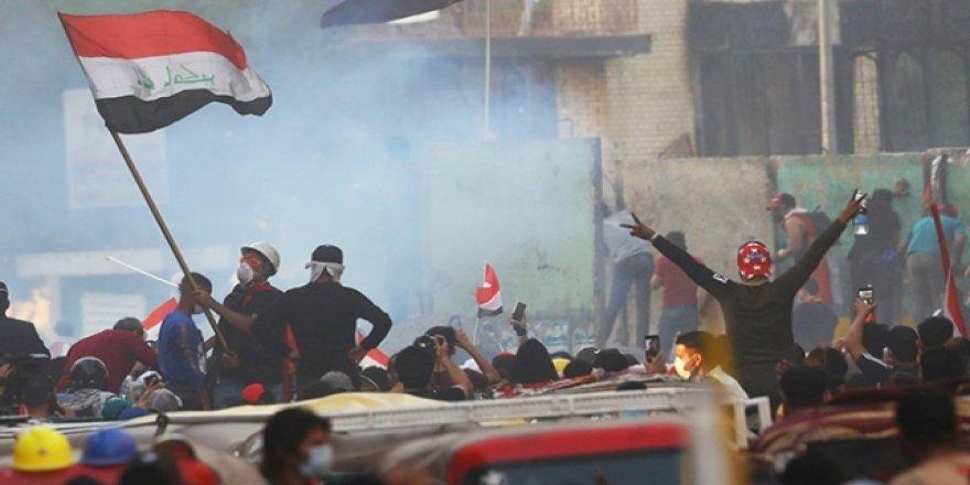 """Irak'ta, """"25 Ekim Gösterileri"""" devam ediyor"""