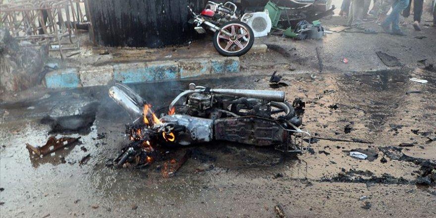 Afrin'de bombalı saldırı: 2 ölü, 10 yaralı