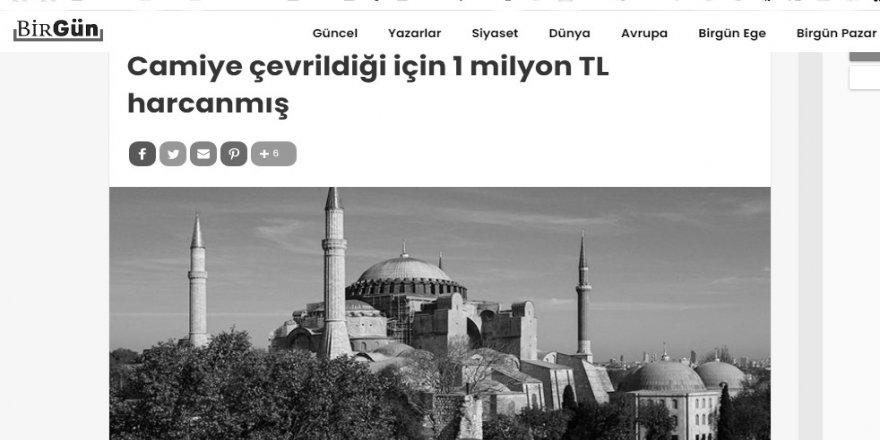 Türkiye solunun Ayasofya acısı bitmiyor!