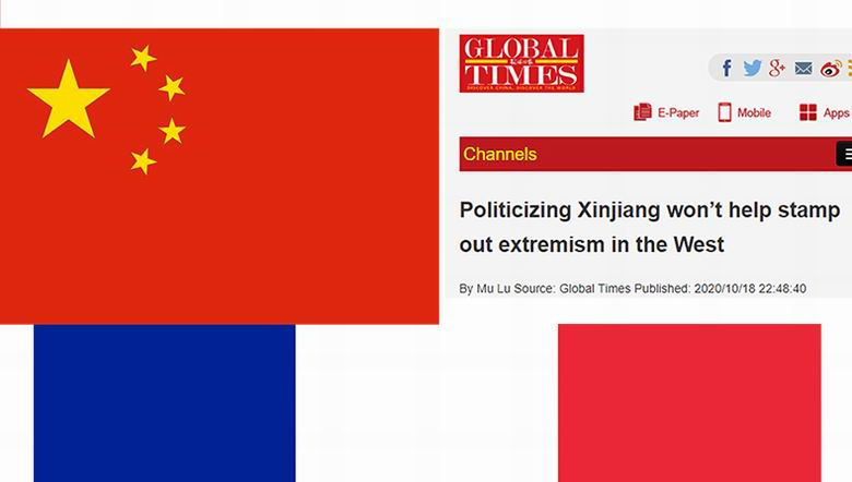 Soykırımcı Çin'den Fransa'ya akıl