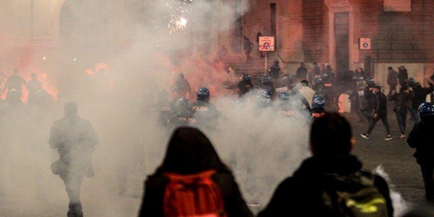 İtalya'da tedbirler protestolara neden oldu
