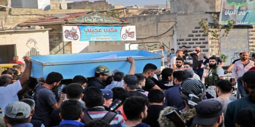 """Tahriruş-Şam'dan işgalci Rusya'nın saldırısında onlarca şehid veren Feylakuş-Şam'a: Acımız bir, sözümüz intikam!"""""""