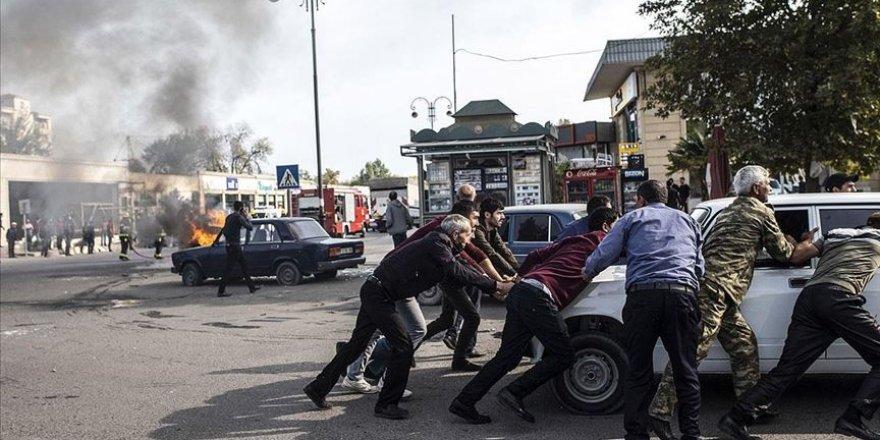 Ermenistan Berde şehir merkezinde sivilleri vurdu: 19 ölü