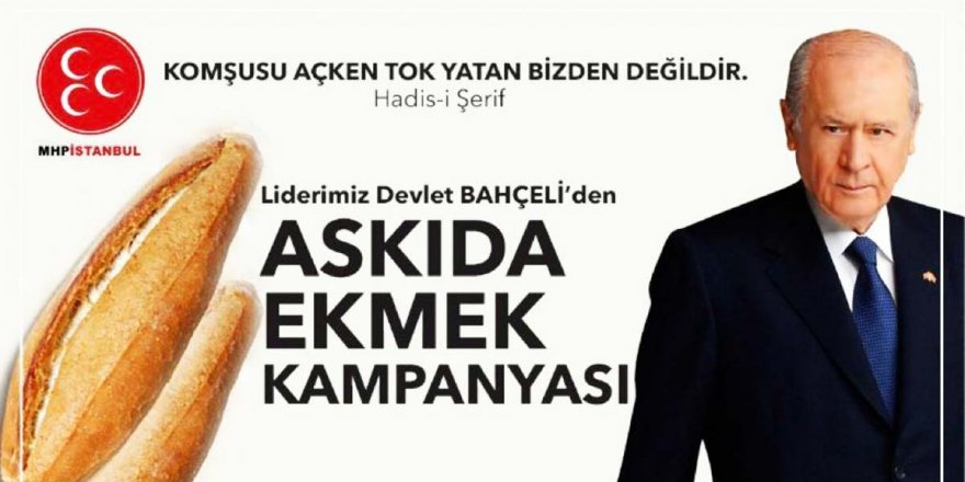 Erdoğan'dan Bahçeli'nin 'askıda ekmek' kampanyasına tepki