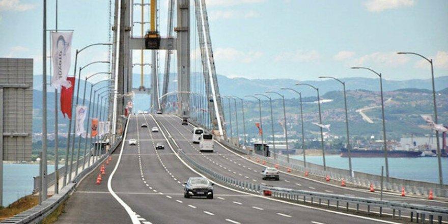 Otoyol ve köprülerde 'dinamik fiyatlandırma' seneye devrede