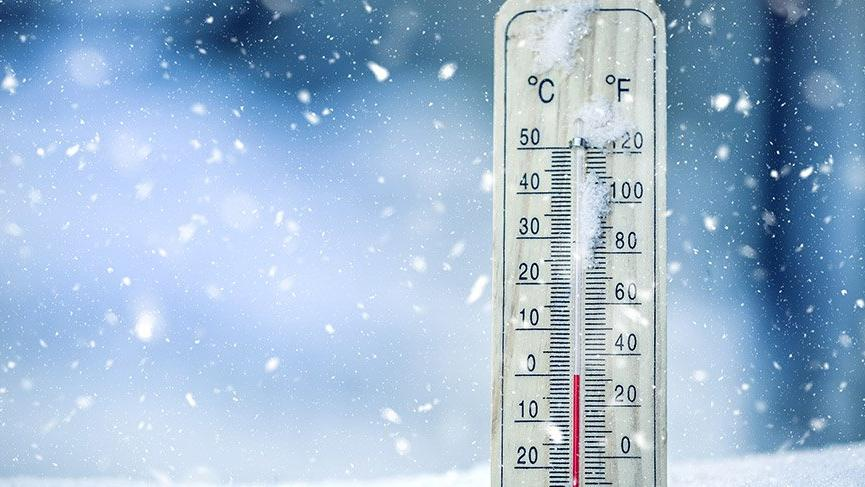 Doğu Anadolu'da gece sıcaklık -4 dereceye düştü