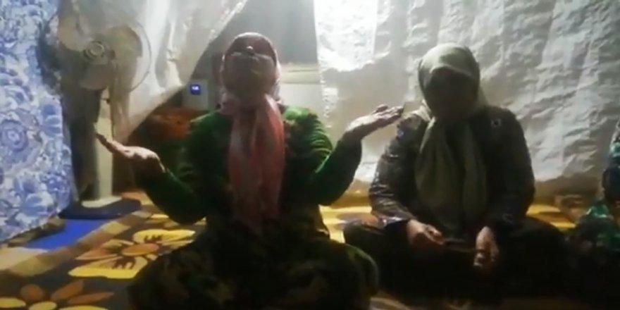 İdlibli kadınlardan İzmirli depremzedelere: 'Sizi en iyi biz anlarız'