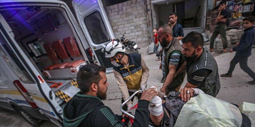 İşgalci Rusya İdlib'de çiftçilere saldırdı: 1 ölü, 5 yaralı
