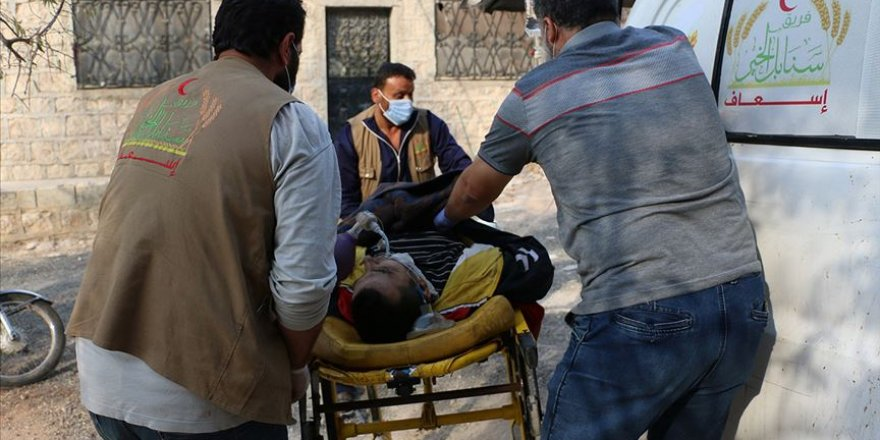 Katil Esed güçleri İdlib'de yine sivilleri hedef aldı: 1 ölü